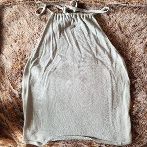 Gucci super soft cashmere halter top authentic